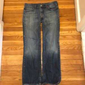 7 For All Mankind bootcut size 31 jeans